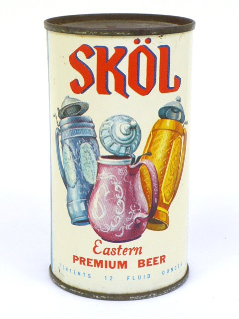 Uma das primeiras latas Americanas