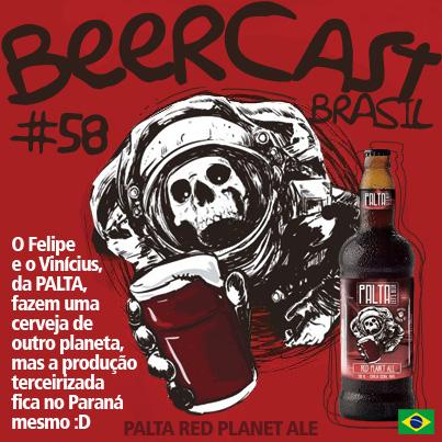 Cerveja Palta Red Planet Ale – Beercast #58