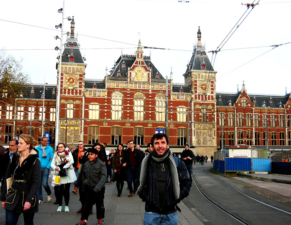 Central Station de Amsterdam.