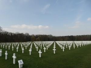 Cemitério americano da WWII.