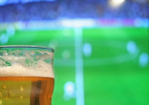 Lager and football