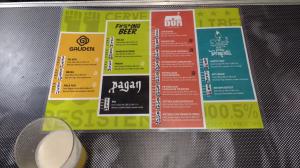 Cervejas e preços na Resistência Cervejeira