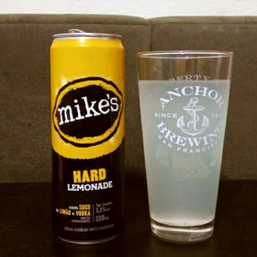 Mike's Hard Lemonade.