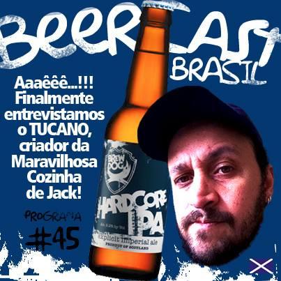 Cerveja BrewDog Hardcore IPA com Tucano da Maravilhosa Cozinha de Jack