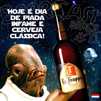 Cerveja La Trappe Tripel no Empório Adega Pelotas – Beercast #71