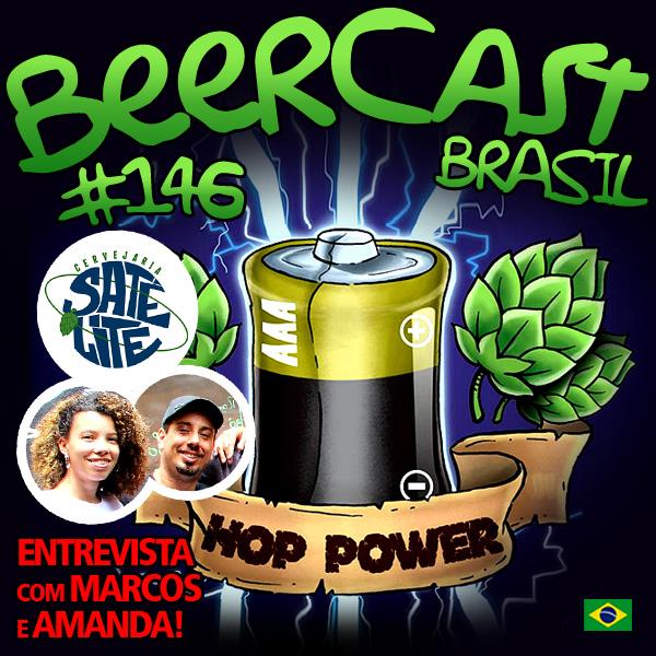 Cerveja AAA Hop Power com Marcos e Amanda – Beercast #146